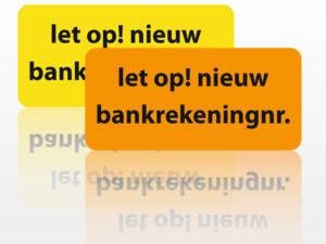 Doorstuurservice Bank Stopt!