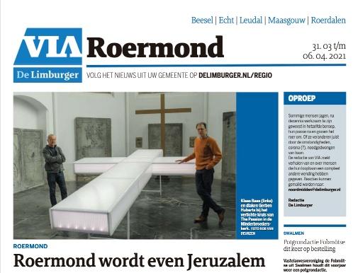 Roermond wordt even Jeruzalem (VIA Roermond)