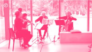 Concert Buitenskamers: Alumni Kwartet